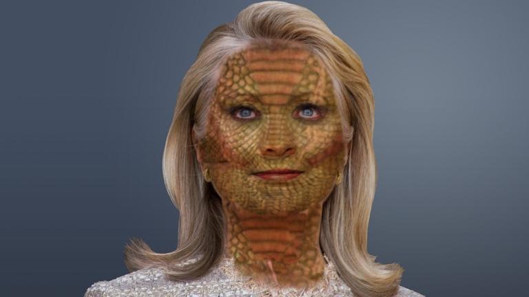 reptilian-hillary