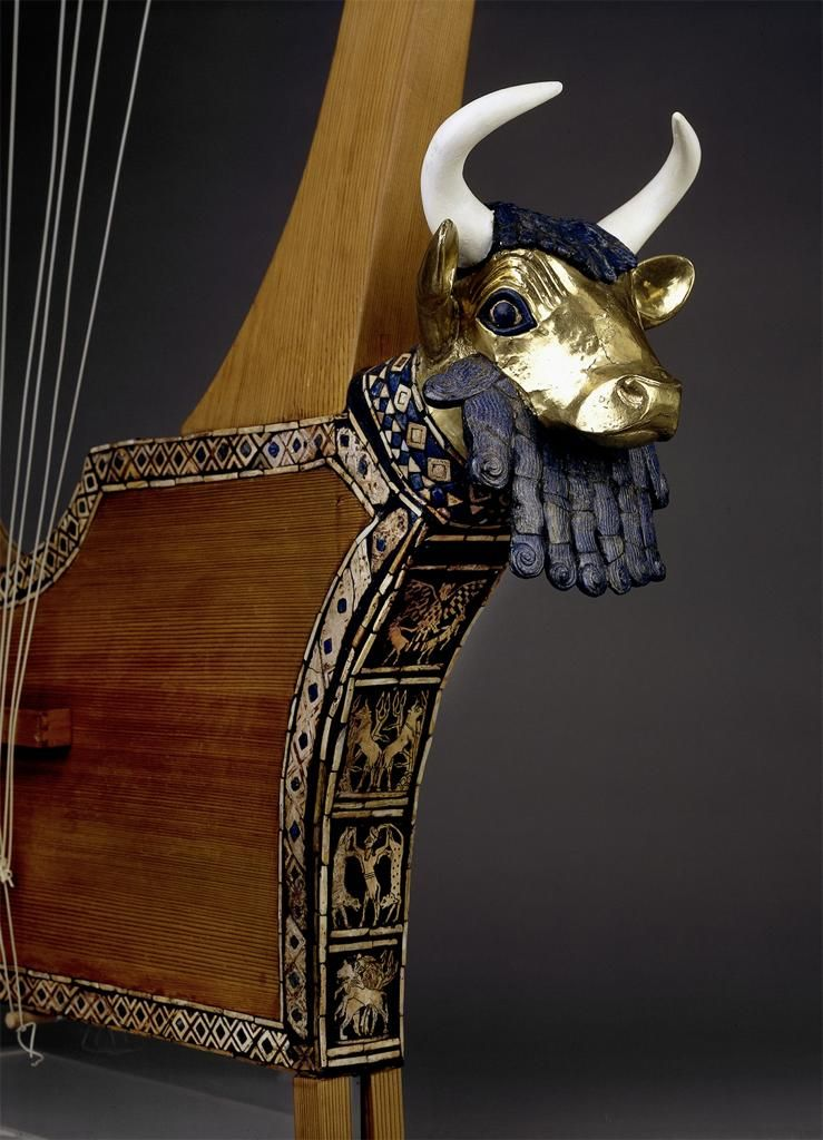 queen-puabi-bull-headed-lyre